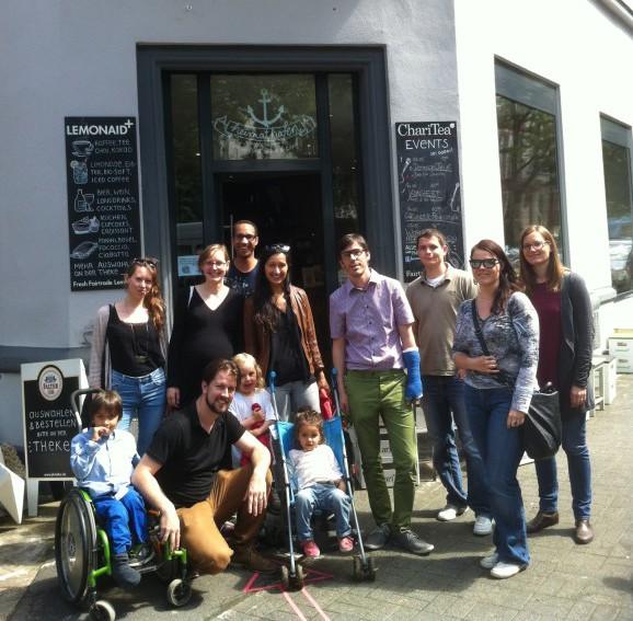Team (zu Besuch im heimathafen Wiesbaden)