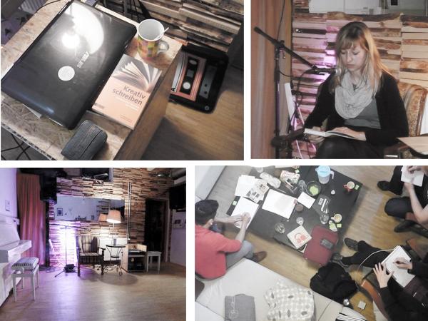 Kreatives Schreiben und Open Stage mit Lisa-Maria Seydlitz